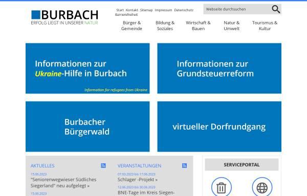 Vorschau von www.burbach-siegerland.de, Burbach