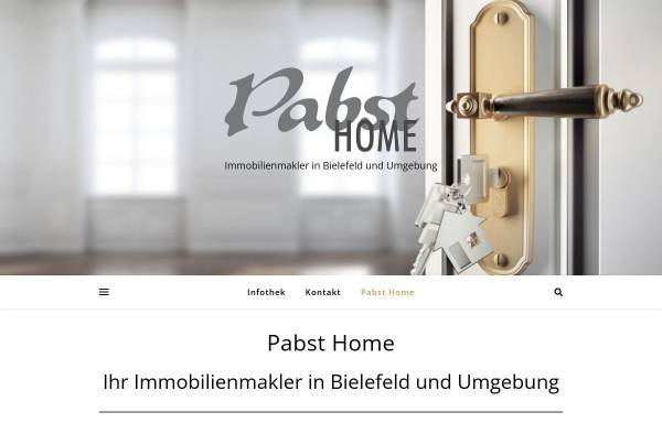 Vorschau von www.pabsthome.com, Modelle Pabst