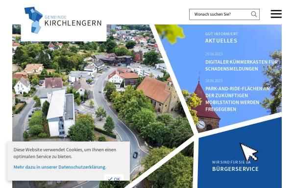 Vorschau von www.kirchlengern.de, Gemeinde Kirchlengern