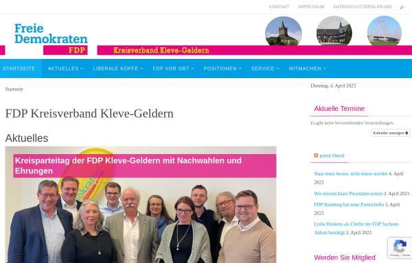 Vorschau von fdp-kle.de, FDP Kleve