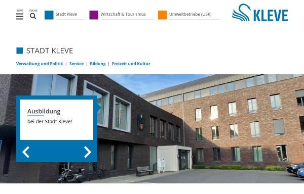 Vorschau von www.kleve.de, Kleve