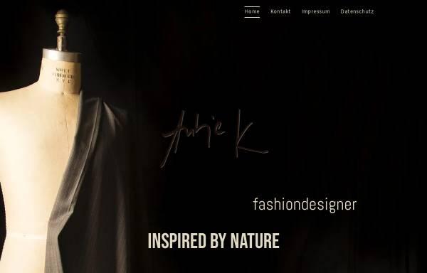 Vorschau von www.fashion-design.de, Modedesign Antje K.