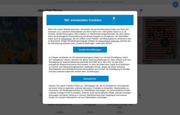 Vorschau von shop.ksta.de, KASTA-Shop - Online-Shop des