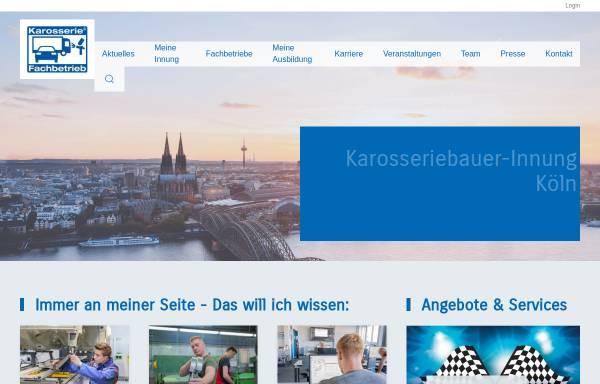 Vorschau von www.karosserie-innungkoeln.de, Karosseriebauer-Innung Köln