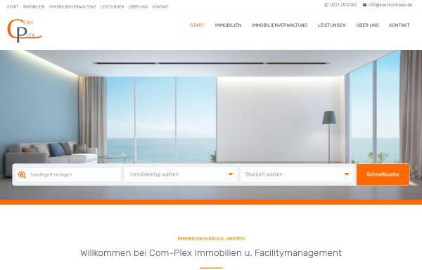 Vorschau von www.koelncomplex.de, Com-Plex Immobilien & Facility Management GmbH