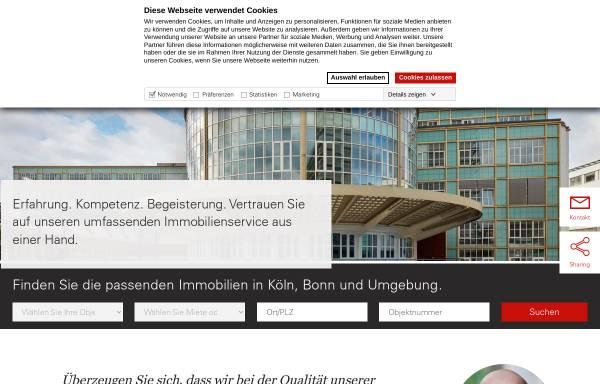 Vorschau von www.greif-contzen.de, Greif & Contzen Immobilienmakler