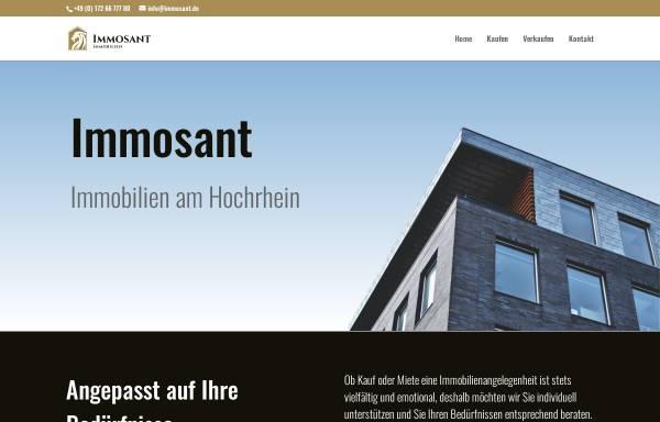 Vorschau von www.immosant.de, Immosant - Leibrock Duve Immobilien OHG
