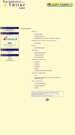 Vorschau der mobilen Webseite www.reisebuero-toeller.de, Touren-Trips-Träume