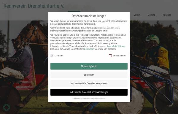 Vorschau von www.rennverein-drensteinfurt.de, Rennverein Drensteinfurt e.V.-Pferderennen