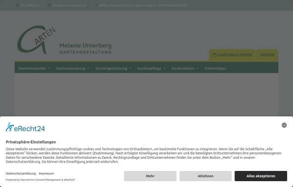 Vorschau von www.garten-unterberg.de, Gartengestaltung - Melanie Unterberg