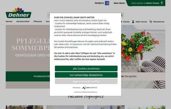 Vorschau von www.dehner.de, Klee Gartenfachmarkt Martin Podorf oHG