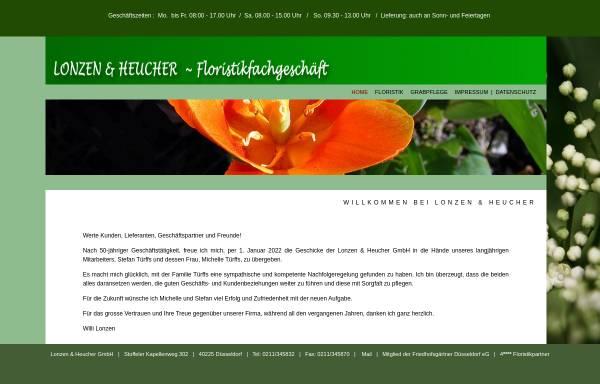Vorschau von www.floristik-duesseldorf.de, Lonzen & Heucher GmbH