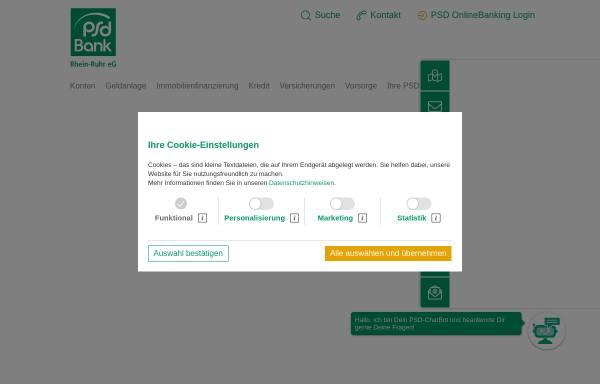 Vorschau von www.psd-rhein-ruhr.de, PSD Bank