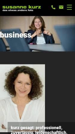 Vorschau der mobilen Webseite www.susannekurz.de, Susanne Kurz, Fotografin