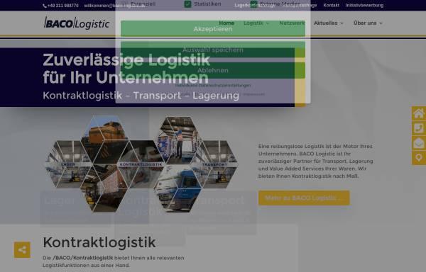 Vorschau von www.baco-logistic.de, Baco Logistic Backhaus GmbH & Co.