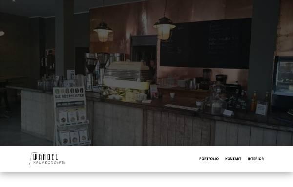 Vorschau von wandel-raumkonzepte.de, Wandel Antik, Markus Wildhagen