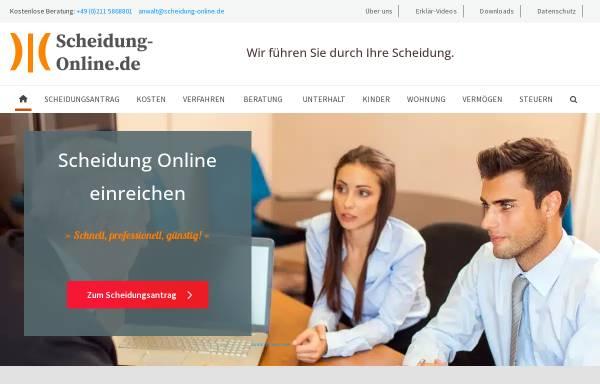 Vorschau von www.scheidung-online.de, Rechtsanwalt Roland Sperling