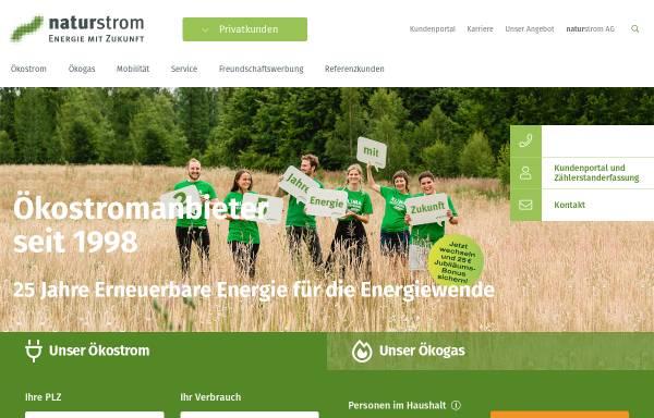 Vorschau von www.naturstrom.de, Naturstrom AG