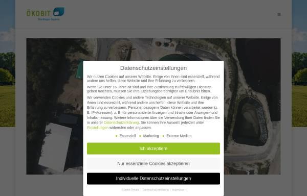 Vorschau von www.oekobit.com, Ökobit GmbH