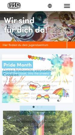 Vorschau der mobilen Webseite www.jugendzentren.at, VJZ Community