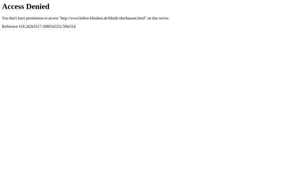 Vorschau von www.helios-kliniken.de, HELIOS St. Elisabeth Klinik Oberhausen