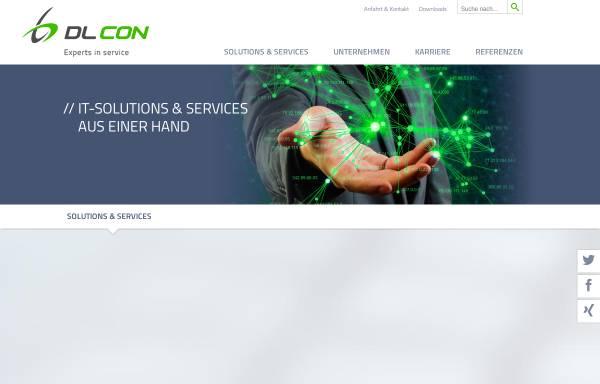 Vorschau von www.dlcon.de, DLCON Dynamic Logistics Consulting GmbH & Co. KG