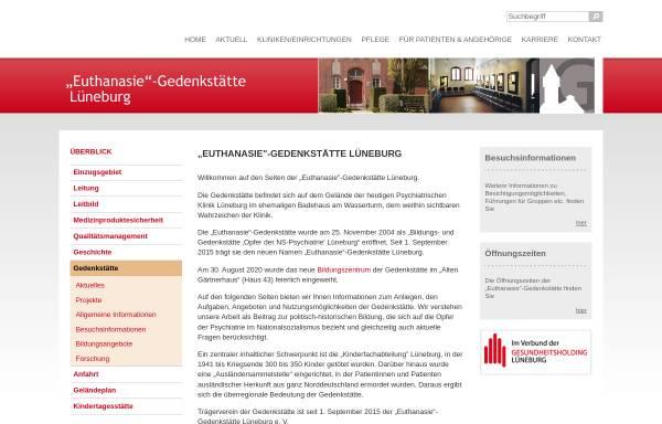 Vorschau von www.pk.lueneburg.de, Bildungs- und Gedenkstätte Lüneburg