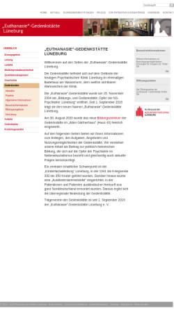 Vorschau der mobilen Webseite www.pk.lueneburg.de, Bildungs- und Gedenkstätte Lüneburg