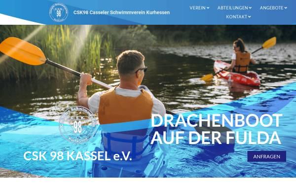Vorschau von www.csk98.de, Casseler Schwimmverein Kurhessen von 1898 e.V.