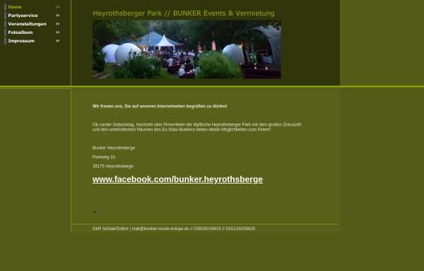 Vorschau von www.bunker-musik-kneipe.de, Bunker Musik Kneipe