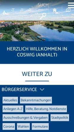 Coswig Anhalt Coswig Anhalt Stadte Und Gemeinden Coswigonline De