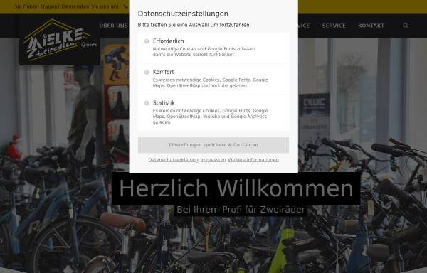 Vorschau von www.zweiradhaus-mielke.de, Zweiradhaus Mielke, Querfurt