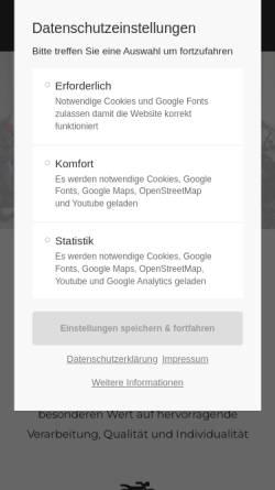 Vorschau der mobilen Webseite www.zweiradhaus-mielke.de, Zweiradhaus Mielke, Querfurt