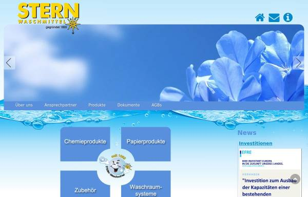 Vorschau von www.sternwaschmittel.de, Sternwaschmittel