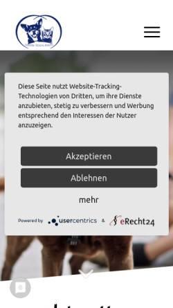 Vorschau der mobilen Webseite www.tierheim-stendal-borstel.de, Tierheim Stendal-Borstel