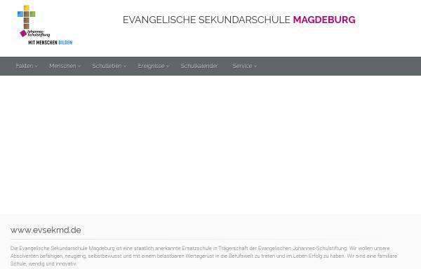 Vorschau von www.evsekmd.de, Freie Schule Magdeburg
