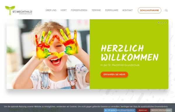 Vorschau von www.st-mechthild-grundschule.de, St. Mechthild Grundschule Magdeburg