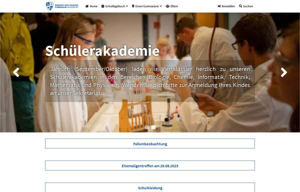 Vorschau von siemens.md.st.schule.de, Werner-von-Siemens-Gymnasium Magdeburg