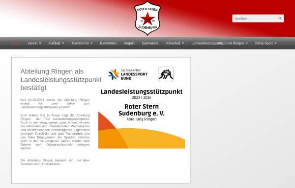 Vorschau von www.rotersternsudenburg.de, Roter Stern Sudenburg e.V.