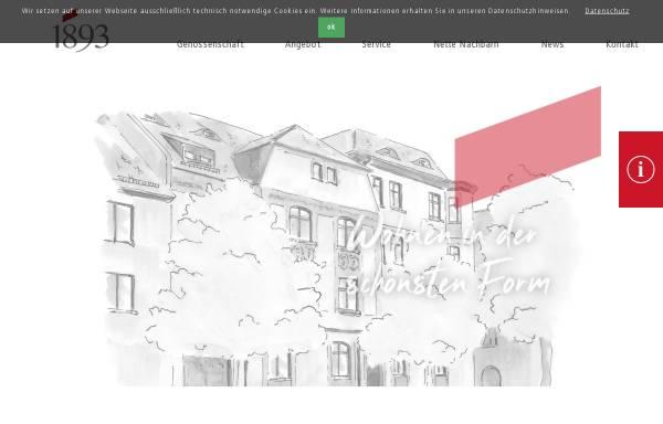 Vorschau von www.wg1893.de, Wohnungsbaugenossenschaft von 1893