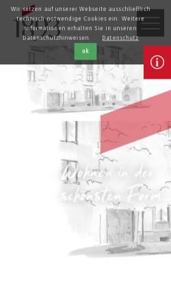 Vorschau der mobilen Webseite www.wg1893.de, Wohnungsbaugenossenschaft von 1893
