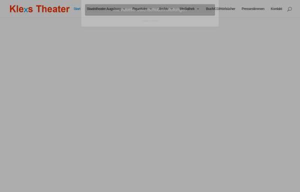 Vorschau von www.klexs-theater.de, Klexs Theater