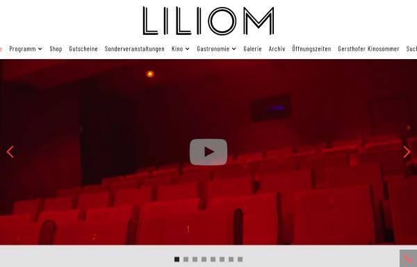 Vorschau von www.liliom.de, Liliom