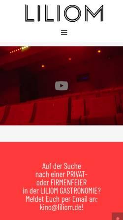 Vorschau der mobilen Webseite www.liliom.de, Liliom