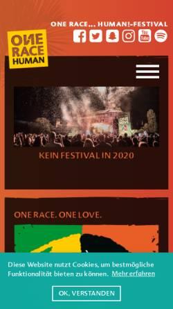 Vorschau der mobilen Webseite www.karibik-festival.de, Afrika Karibik Festival