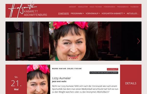 Vorschau von www.hofgarten-kabarett.de, Hofgarten Kabarett