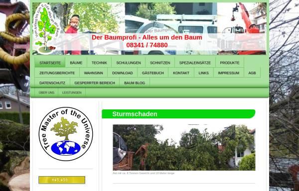 Vorschau von www.der-baumprofi.de, Der Baumprofi