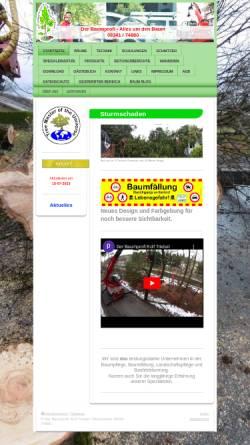 Vorschau der mobilen Webseite www.der-baumprofi.de, Der Baumprofi