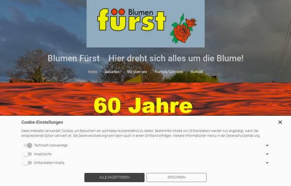 Vorschau von www.blumen-fuerst.de, Blumen Fürst