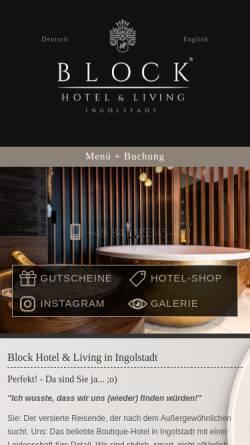 Vorschau der mobilen Webseite www.hotel-ammerland.de, Hotel Ammerland